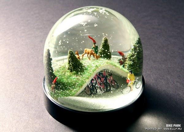 Новогодние снежные шары - Интересное и необычное