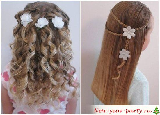 Модные причёски для девушек фото