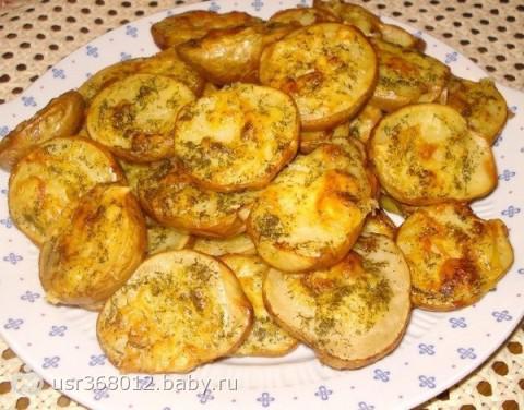 Как запечь картошку в мундире с салом в духовке рецепт