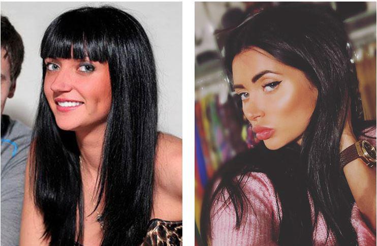 марина майер до пластики и после фото перечне актрис актеров