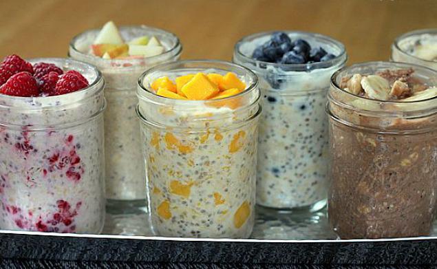 Рецепты с овсянкой на завтрак