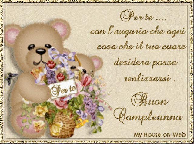Поздравления с днем рождения женщине на итальянском языке 13
