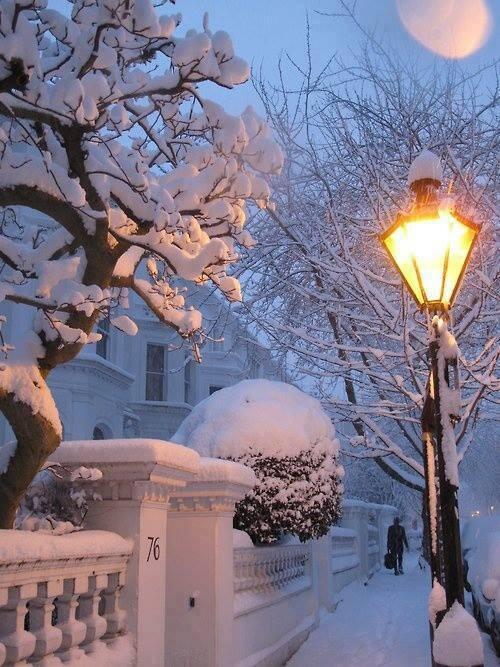 И снова снег