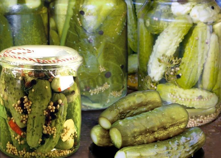 Огурцы горчичной заливке рецепт фото