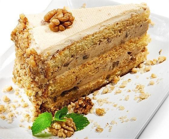 Самый вкусный торт с грецким орехом