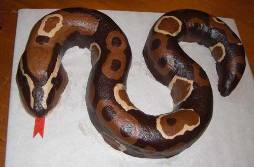 Торт змея фото своими руками