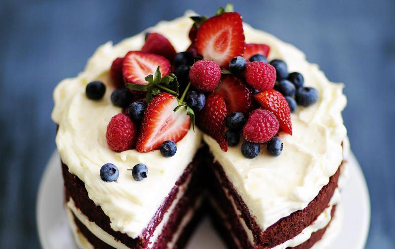 Очень красивый и вкусный торт своими руками