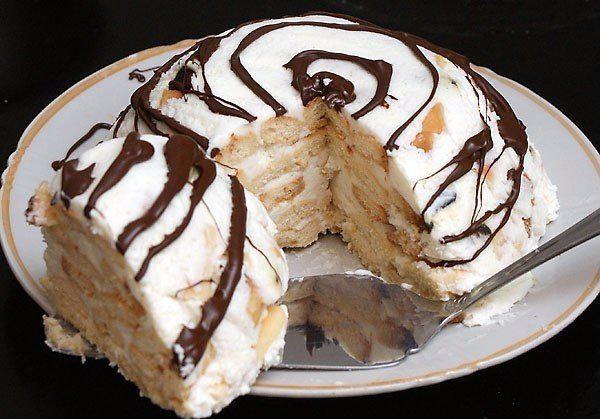 Домашний торт творогом рецепт фото