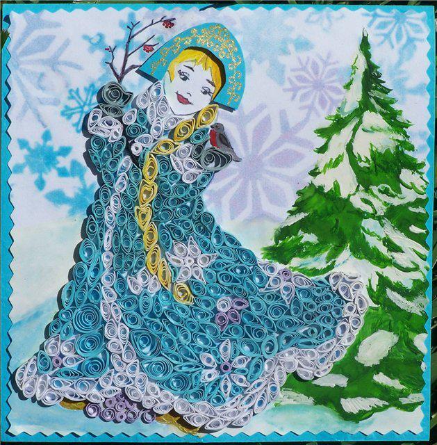 снегурочка своими руками поделки