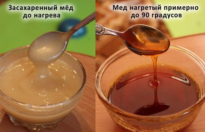 Как сделать засахаренный мед жидким в микроволновке