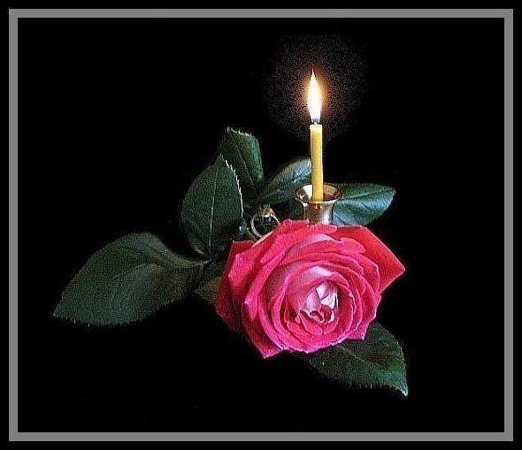 Траурные цветы открытки с днем рождения, днем парашютиста картинки