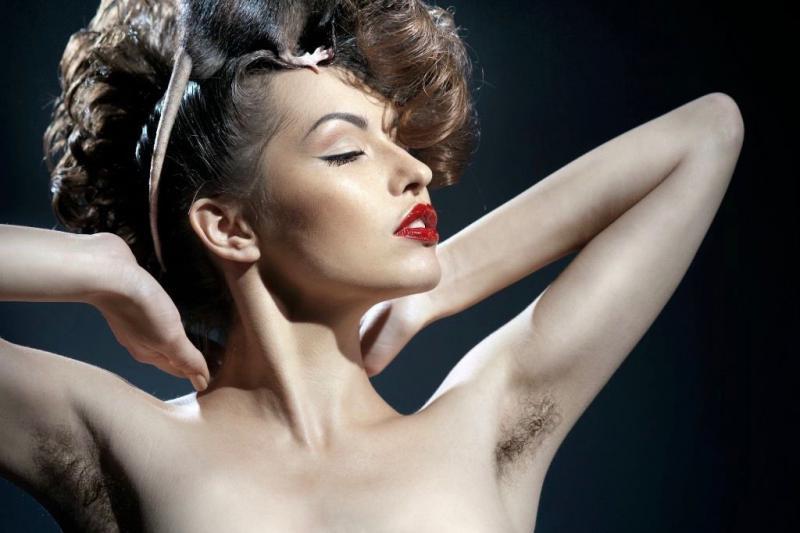 Женщины с волосатыми телами — pic 13
