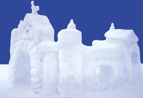 снежная крепость картинки рисунок точно соблюдать рецептуру