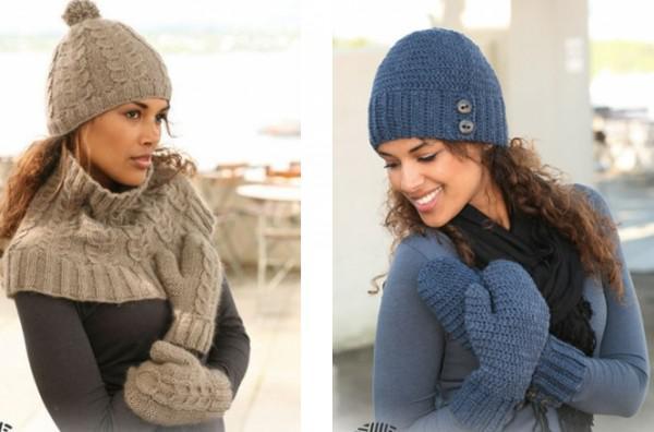 Модные шапки осень вязаные своими руками