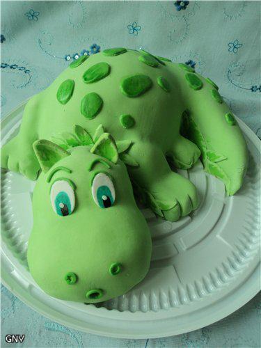 Как сделать торт зеленым