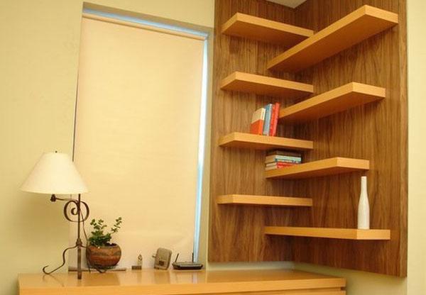 Угловые полки: используем пространство разумно - Дом, квартира, дача, огород, уют и быт