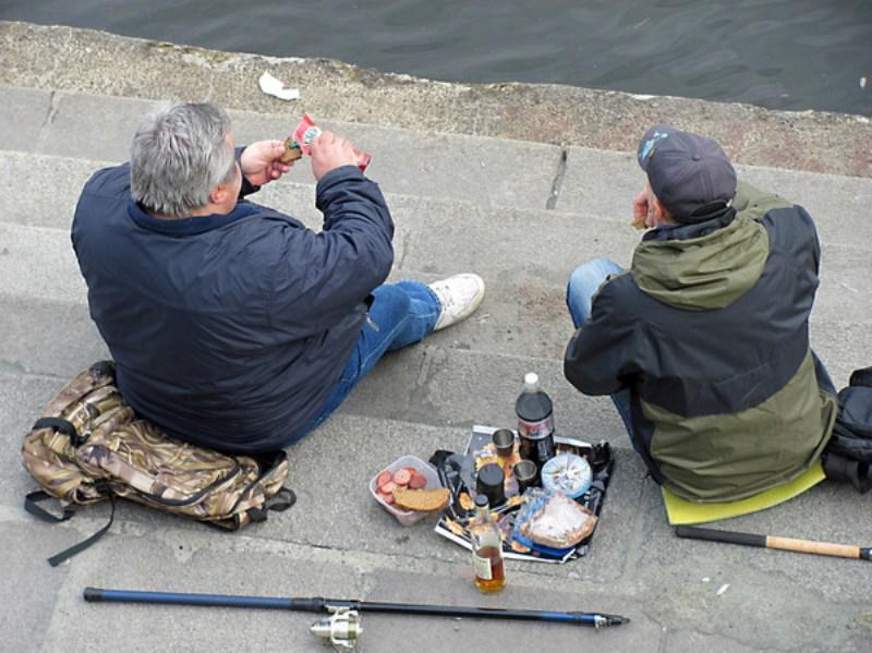 Про пьянку и рыбалку