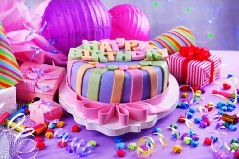 Красивый торт с днем рождения фото