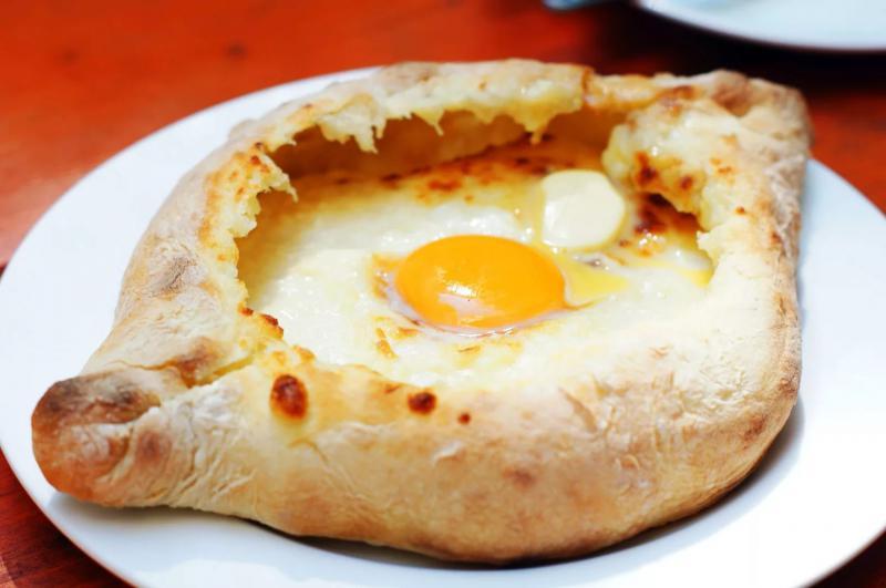 Рецепт лодочки с сыром по абхазски