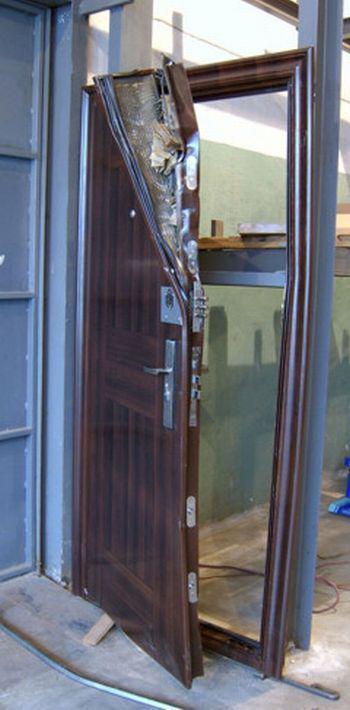 укрепление входной двери от взлома