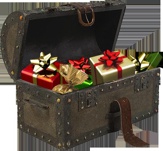 Фото сундучков с подарками