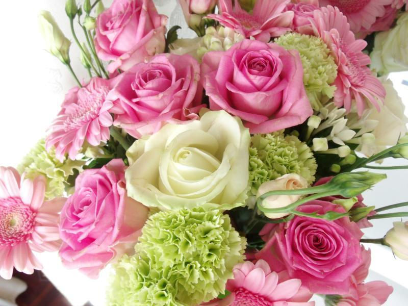 Цветы к дню рождения девушке фото