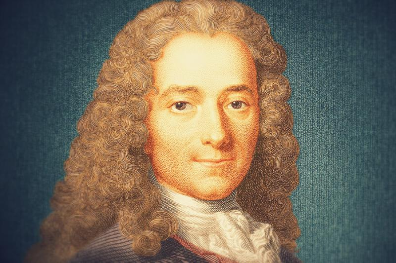 a biography of francois marie arouet voltaire a french enlightenment writer historian and philosophe
