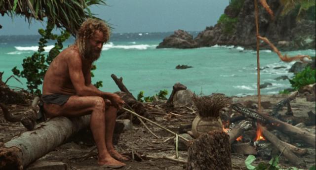 Видео: российского туриста нашли на необитаемом острове