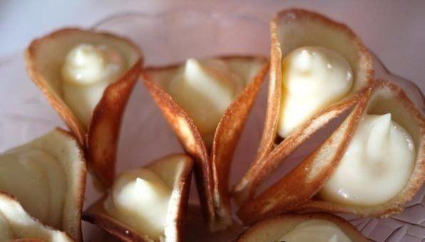 Пирожные каллы рецепт с фото