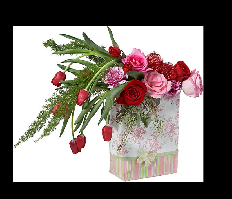 Поздравление с днем рождения в подарок ваза