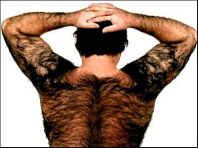 С волосатой спиной фото мужик