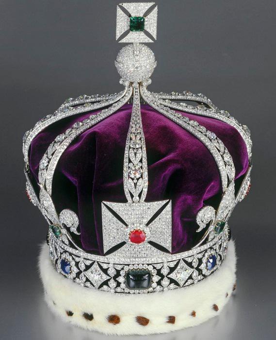 Как сделать платиновую корону 140