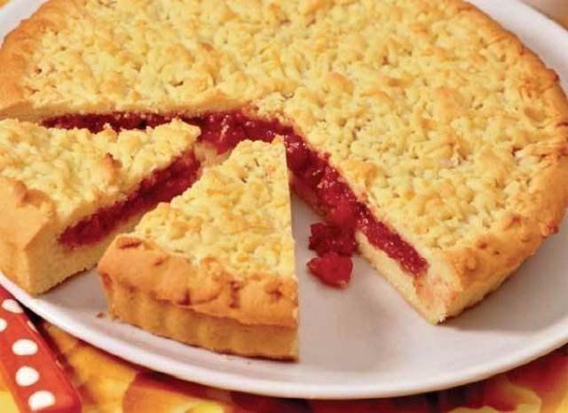 Быстрый и простой пирог с вареньем в мультиварке рецепты с фото