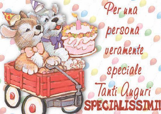 Открытка с днем рождения на итальянском языке девушке