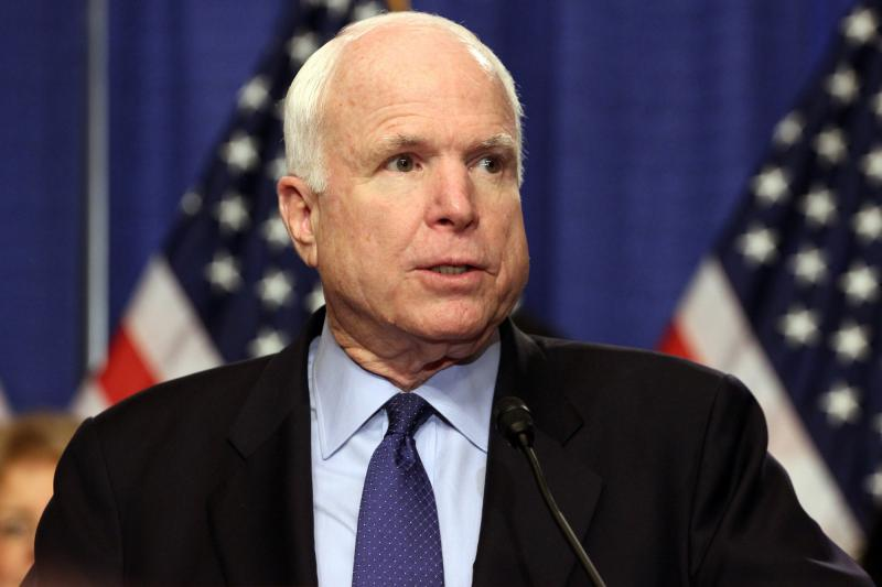 the political career and life of senator john mccain