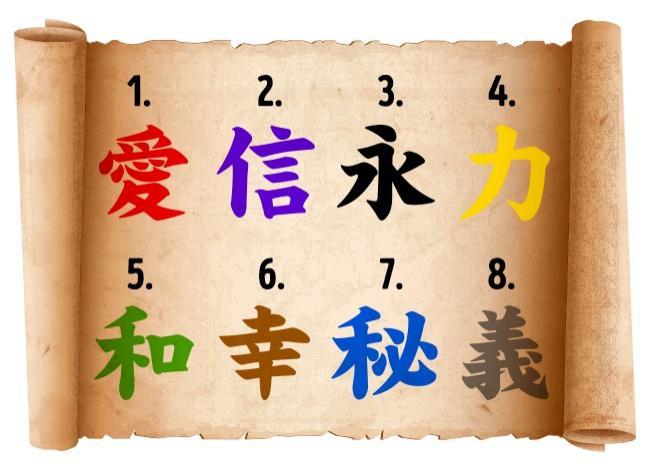 Выберите иероглиф и узнайте, чего вам сейчас не хватает больше всего 68f21