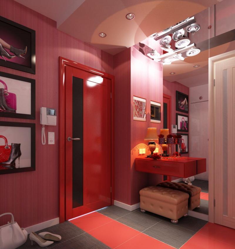 коридор красный фото предлагаем комплексный пакет