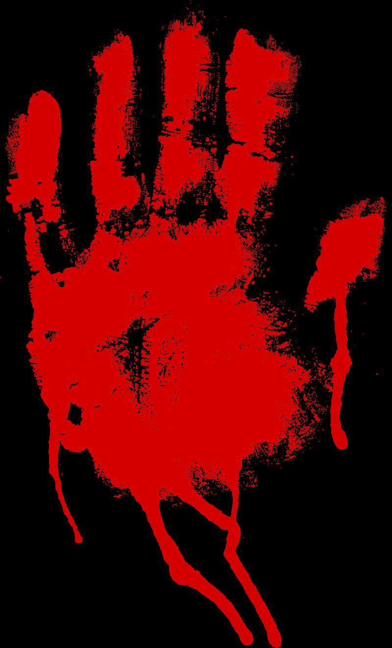 кровавый отпечаток руки картинки шаг