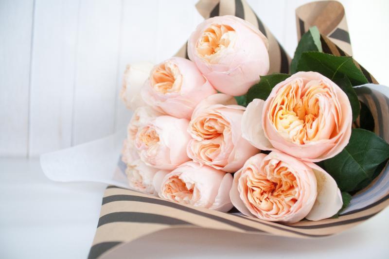 Букет английских роз купить спб