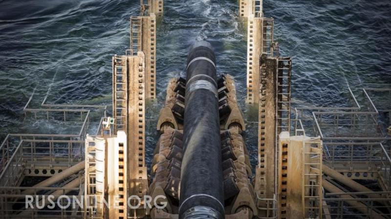 МОЛНИЯ! «Северный поток – 2» достроит специальное подводное судно