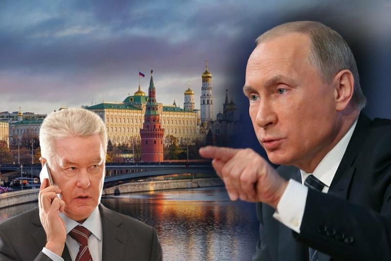Назревает очередное противостояние Путина и Собянина перед закрытием страны на карантин или нам что-то недоговаривают