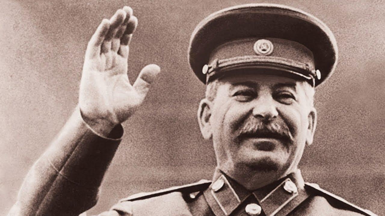 Ленин и сталин на одном