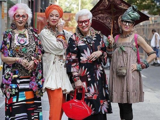 Пожилые красавицы