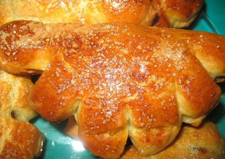 Рецепт булочек с повидлом в духовке пошаговый рецепт с фото