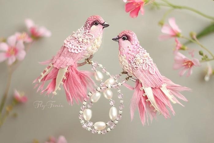 Как сделать птицу дивную